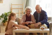 PROMO People - Senior Citizen Family Child Game Home - iStock - SeventyFour