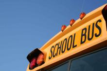 PROMO School - Yellow Bus Blue Sky - iStock - aceshot