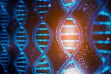 PROMO 64J1 Science - DNA Chemistry Biology Double Helix Technology - iStock - libre de droit