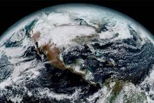 PROMO 64J1 Science - Earth North America Space Clouds - NOAA's National Ocean Service - public domain