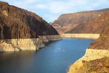 PROMO 64J1 Weather - Drought Lake Mead Arizona Water Hoover Dam Reservoir - iStock - Eisenlohr