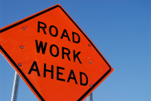PROMO 660 x 440 Sign - Construction Road Work - iStock - jakes47s