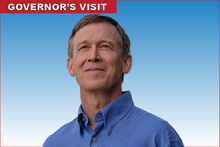 Colorado Governor John Hickenlooper