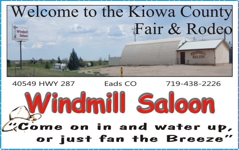 PICT 2019 Kiowa County Fair Sponsor - Windmill Saloon