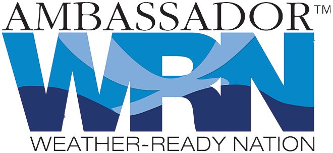Logo - Weather-Ready Nation Ambassador - NWS